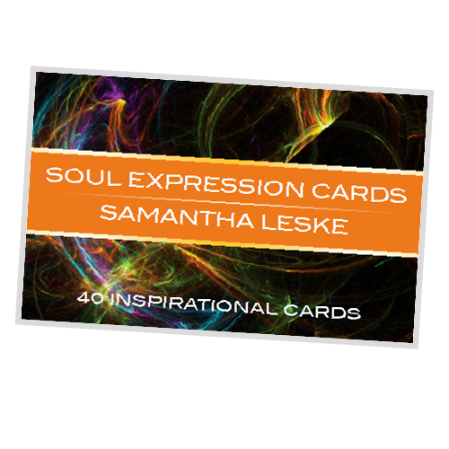 Nurture You Heal You Soul Expression affirmation cards